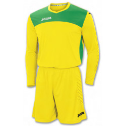 Komplet bramkarski AREA IV SET GOALKEEPER YELLOW-GREEN