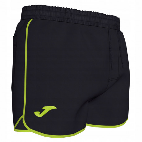 Kąpielówki JOMA SWIMSUIT SHORT BLACK LIME